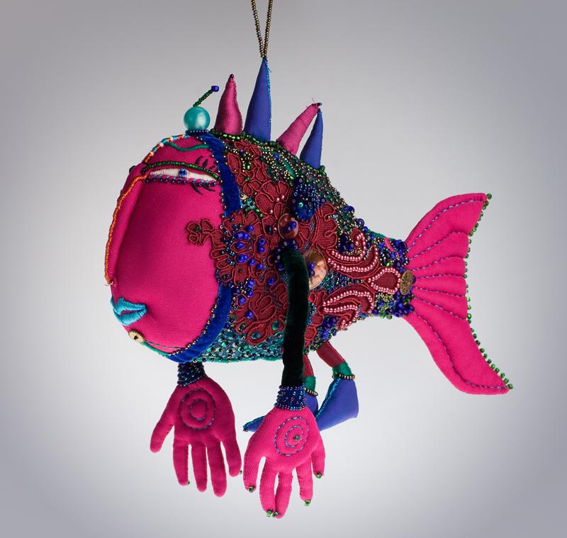 Ольга Полонская     «Рыба-подвеска»