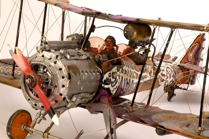 Андрей Северинко «Самолет после боя»