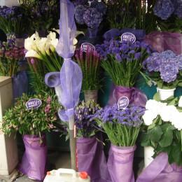 Живые цветы в Милане