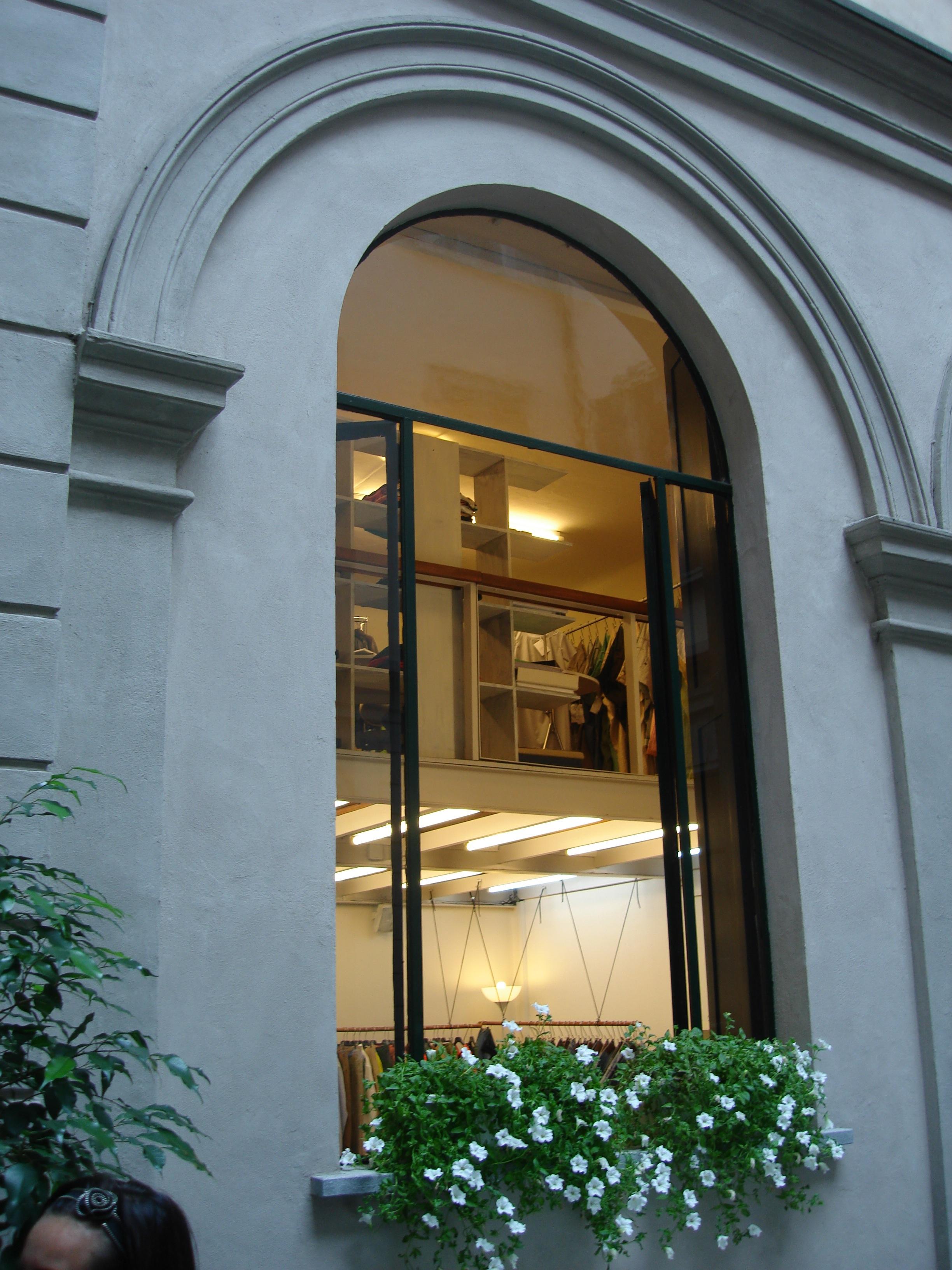 Шоу-рум в Милане