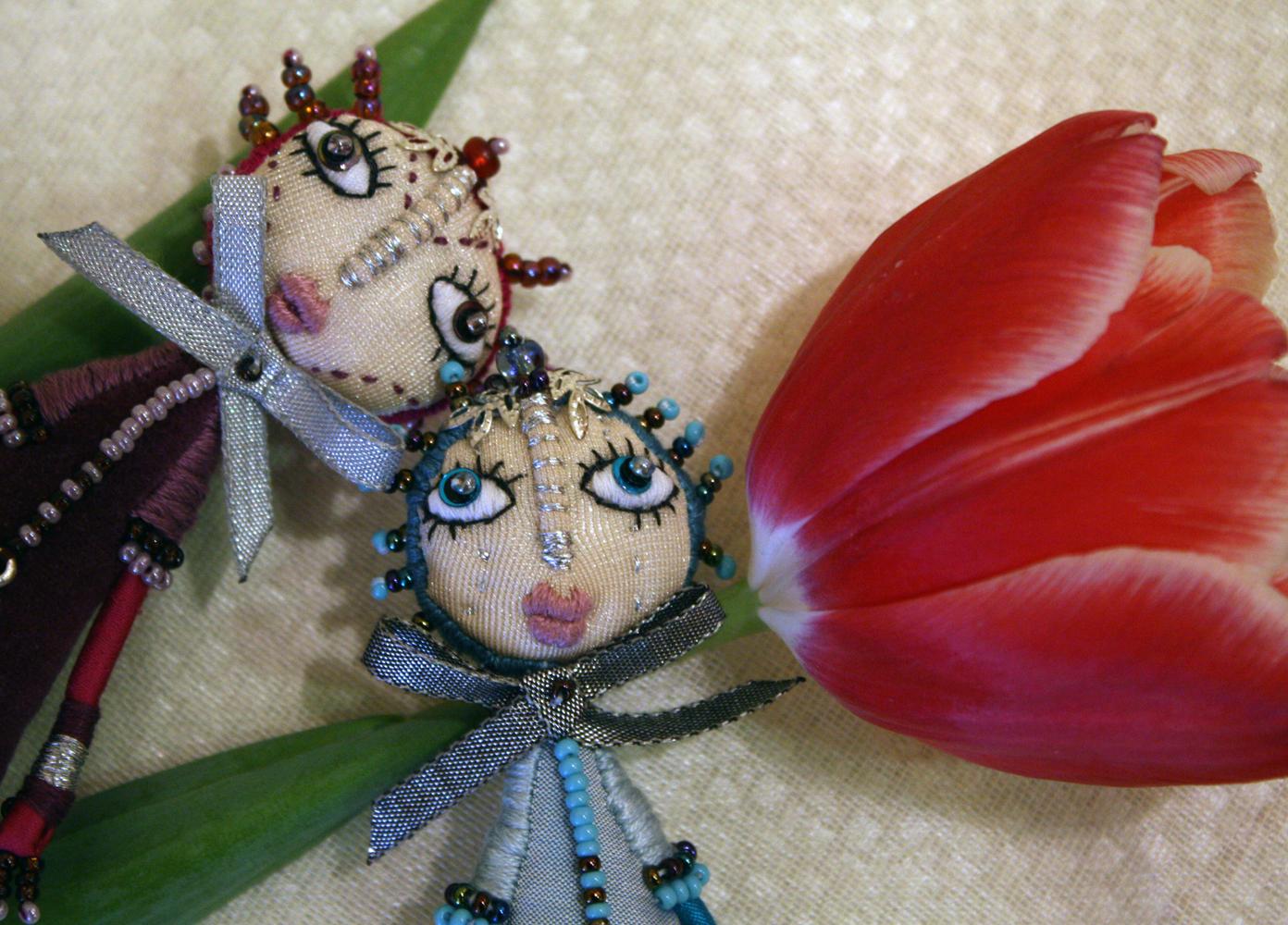 Кошки-брошки от Оли Полонской