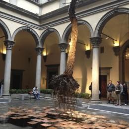 Инсталляция в одном из музеев Флоренции